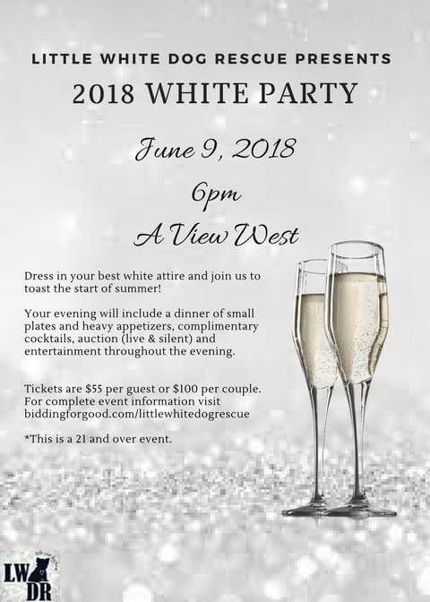 LWDR – 2018 White Party!